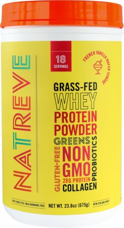 100% Grass-Fed New Zealand Whey Protein