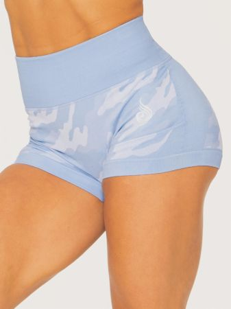 Camo Seamless Booty Shorts