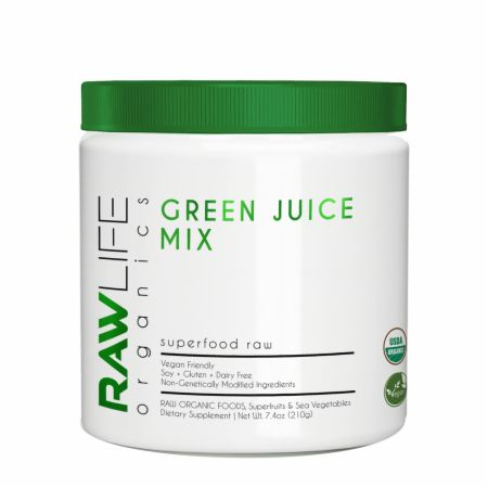 Superfood Raw Green Juice Mix