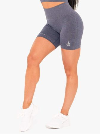 Geo Seamless High Waisted Shorts