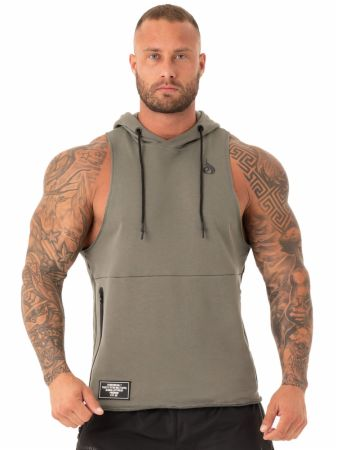 Duty Fleece Sleeveless Hoodie