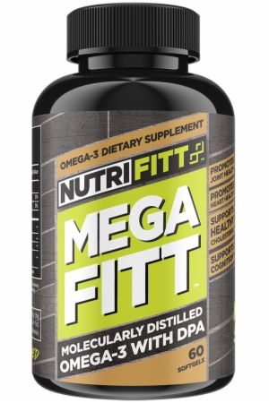 Mega Fitt Omega-3 Fish Oil with DPA