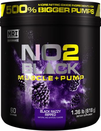 NO2 Black Muscle + Pump Pre-workout