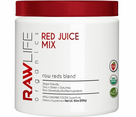 Raw Reds Antioxidant & Energy Blend