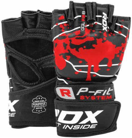 F2 Gel Padded Professional MMA Fight Gloves