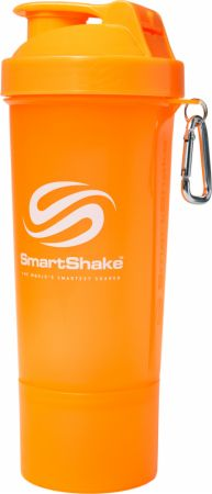 Image of SmartShake Slim Shaker 17 Oz. Neon Orange
