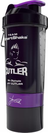 Image of SmartShake Signature Series 27 Oz. Jay Cutler - Black & Purple