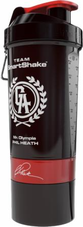Image of SmartShake Signature Series 27 Oz. Phil Heath - Black & Red