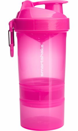 Image of Original2Go Shaker Neon Pink 20 Oz. - Shaker Bottles SmartShake