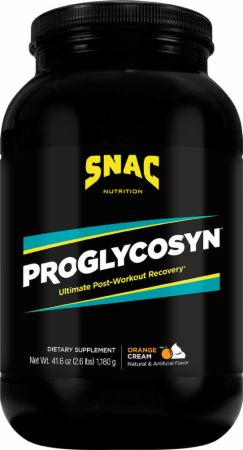 Image of Proglycosyn Orange Cream 2.6 Lbs. - Post-Workout Recovery SNAC