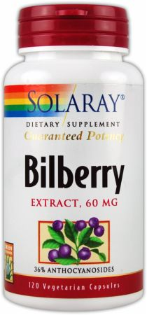 Solaray Bilberry Extract