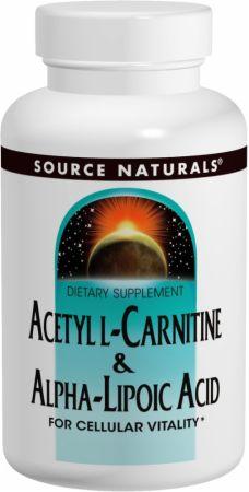 Source Naturals Acetyl L-Carnitine & Alpha-Lipoic Acid の BODYBUILDING.com 日本語・商品カタログへ移動する