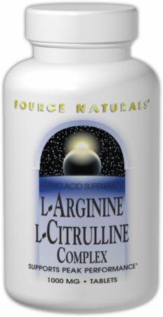 Source Naturals L-Arginine L-Citrulline Complex