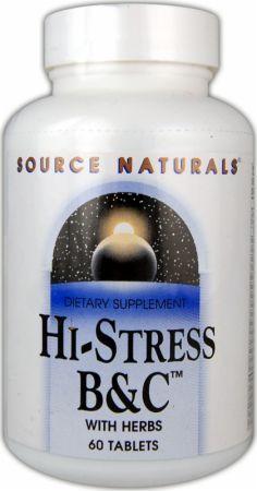 Source Naturals Hi-Stress B&C