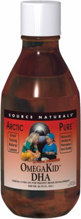 Source Naturals ArcticPure OmegaKid DHA Liquid