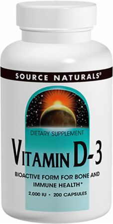 Source Naturals Vitamin D-3