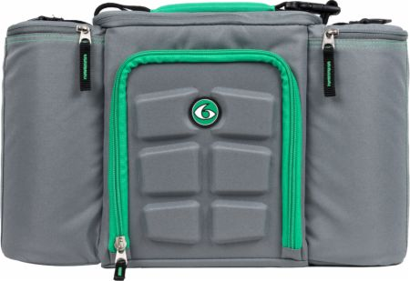Image of 6 Pack Fitness Innovator 6 Pack Bag 3 Meal - Small Grey/Green