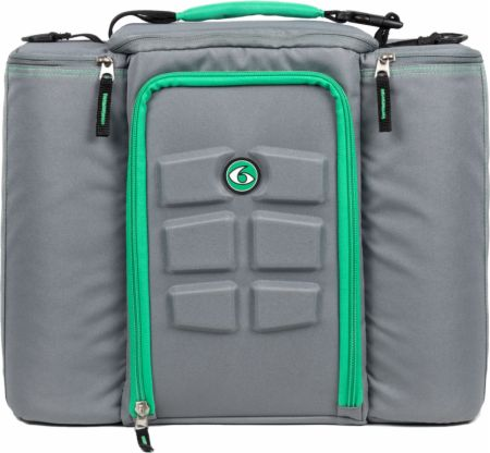Image of 6 Pack Fitness Innovator 6 Pack Bag 5 Meal - Large Grey/Green