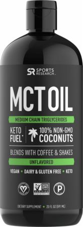 Image of MCT Oil Unflavored 32 Fl. Oz. - Energy & Endurance Sports Research