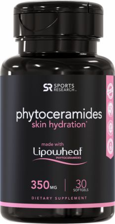 Image of Phytoceramides Skin Hydration 30 Softgels - Health & Wellness Sports Research