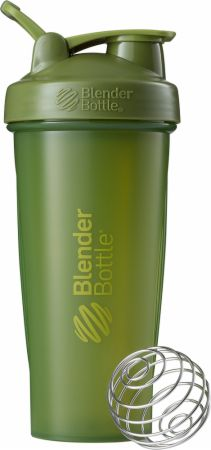 Image of BlenderBottle Classic 28 Oz. Full Color Moss Green