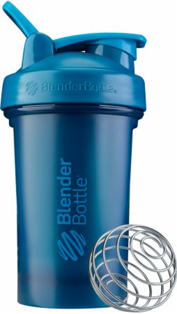 Image of Classic V2 Full Color Ocean Blue 20 Oz. - Shaker Bottles BlenderBottle