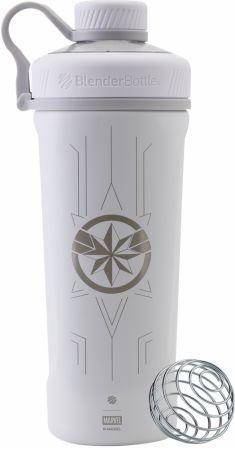 Image of Marvel Radian Stainless Steel Captain Marvel 26 Oz. - Shaker Bottles BlenderBottle
