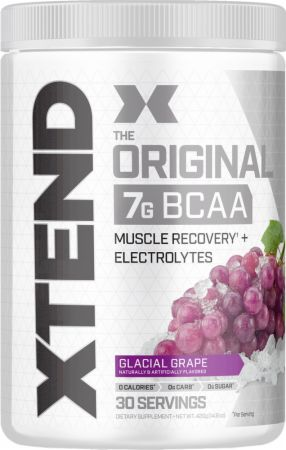 Image of Xtend Original BCAA Glacial Grape 30 Servings - During Workout Xtend