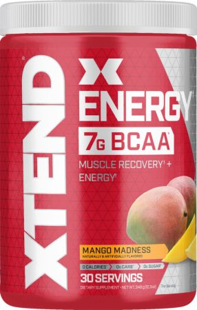 Image of XTEND Energy Mango Madness 30 Servings - Amino Acids & BCAAs Xtend