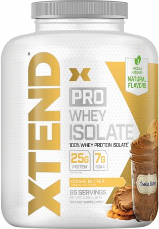 Image of Pro Whey Protein Isolate Cookie Butter 5 Lbs. - Protein Powder Xtend