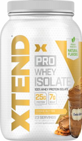 Image of Pro Whey Protein Isolate Cookie Butter 1.8 Lbs. - Protein Powder Xtend