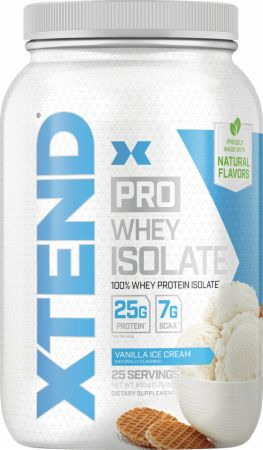 Image of Pro Whey Protein Isolate Vanilla Ice Cream 1.8 Lbs. - Protein Powder Xtend