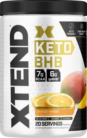 Image of Xtend Keto BHB Orange Mango 20 Servings - Post-Workout Recovery Xtend