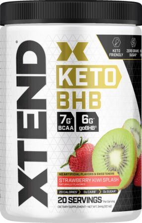 Image of Xtend Keto BHB Strawberry Kiwi Splash 20 Servings - Post-Workout Recovery Xtend