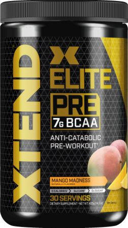 Image of Xtend Elite Pre Workout Mango Madness 30 Servings - Pre-Workout Xtend