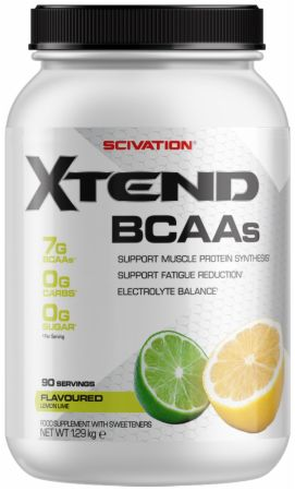Image of Xtend BCAA Powder Lemon Lime 90 Servings - During Workout XTEND