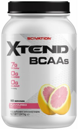 Image of Xtend BCAA Powder Fruit Punch 90 Servings - During Workout XTEND