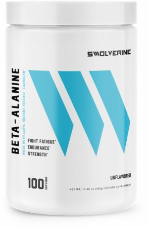 Image of Beta-Alanine Unflavored 100 Servings - Amino Acids & BCAAs Swolverine