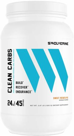 Image of Clean Carbs Sweet Potato Pie 45 Servings - Post-Workout Recovery Swolverine