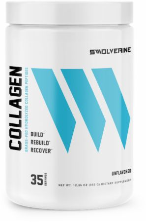 Image of Grass-Fed Hydrolyzed Collagen Unflavored 35 Servings - Joint Support Swolverine