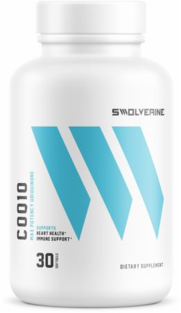 Image of CoQ10 30 Softgels - Cardiovascular Health Swolverine