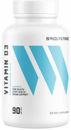 Image of Vitamin D3 90 Softgels - Bone Support Swolverine