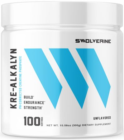 Image of Kre-Alkalyn Creatine Unflavored 100 Servings - Creatine Swolverine