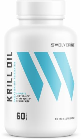Swolverine Krill Oil, 60 Softgels