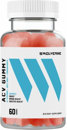 Image of Apple Cider Vinegar Gummies 60 Gummies - Digestive Health Swolverine
