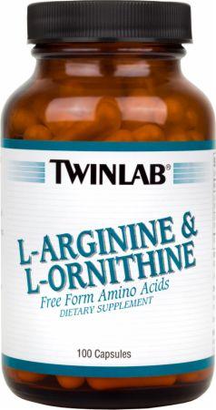 Twinlab L-Arginine/L-Ornithine