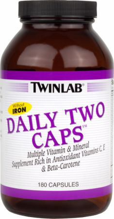 Twinlab Daily Two Caps Without Iron