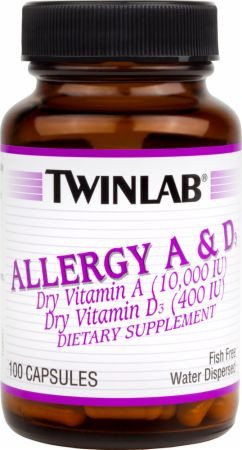 Twinlab Allergy A & D