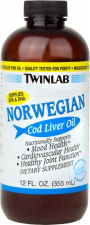 Twinlab Norwegian Cod Liver Oil Liquid