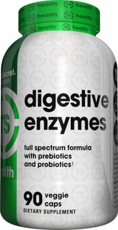 Digestive Enzymes  90 Veggie Caps - Digestive Health Top Secret Nutrition